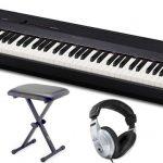 Pianul Casio oferă multe funcții pentru a ajusta timbrul claviaturii
